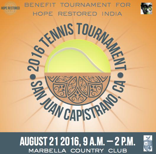 Cheryl Marquis Blog   Hope Restored India Tennis Tournament