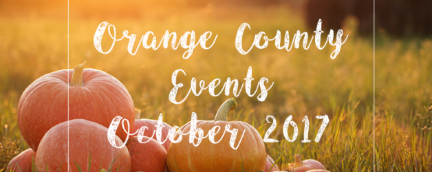 Events in Orange County | October 2017