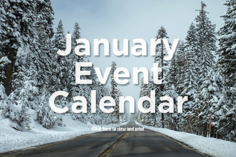 Orange County Events for January 2018
