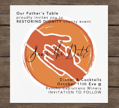 Our Father's Table Fundraiser | October 11 2018